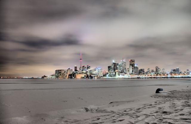 Waterfront Skyline Toronto