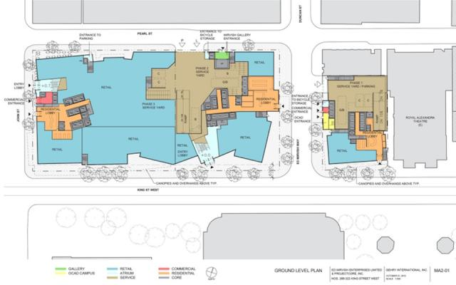 Mirvish+Gehry Toronto development floor plans