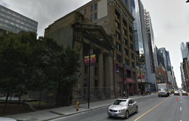 Canadian Bank of Commerce and Heintzman Building to the south, Image from Google