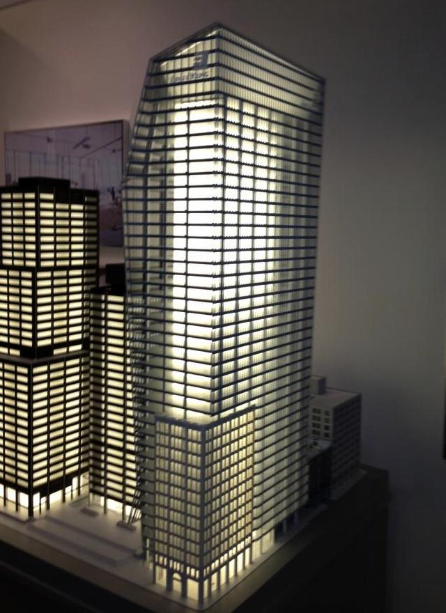 100 Adelaide West, Richmond Adelaide Centre Model, image by raype6