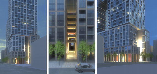 154 Front St. East renderings, Toronto, Cityzen condo, architectsAlliance design