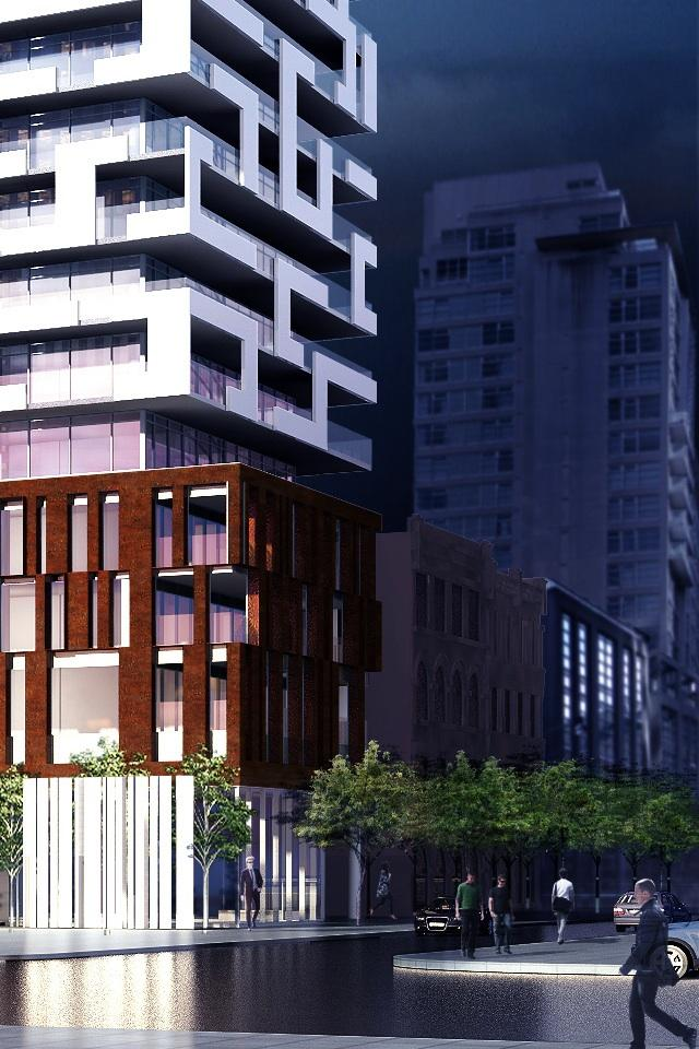 Lombard St, Yonge + Rich condos Toronto by architectsAlliance for Great Gulf