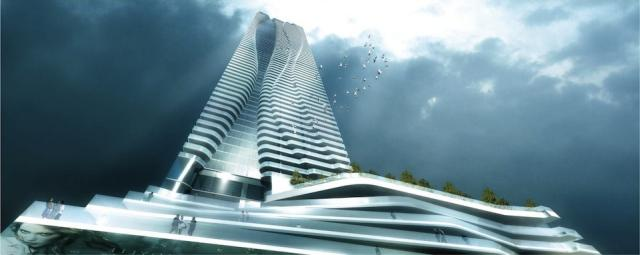 One Bloor condos Toronto by Hariri Pontarini Architects for Great Gulf