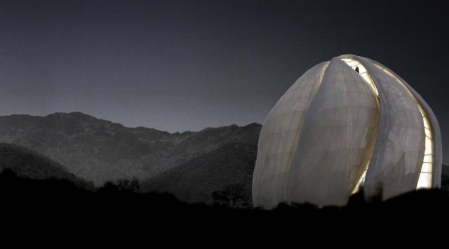 Bahá'í Temple of South America in Santiago, Chile, by Hariri Pontarini