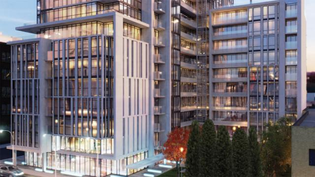 Ivory on Adelaide condos Toronto by Hariri Pontarini Architects for Plazacorp