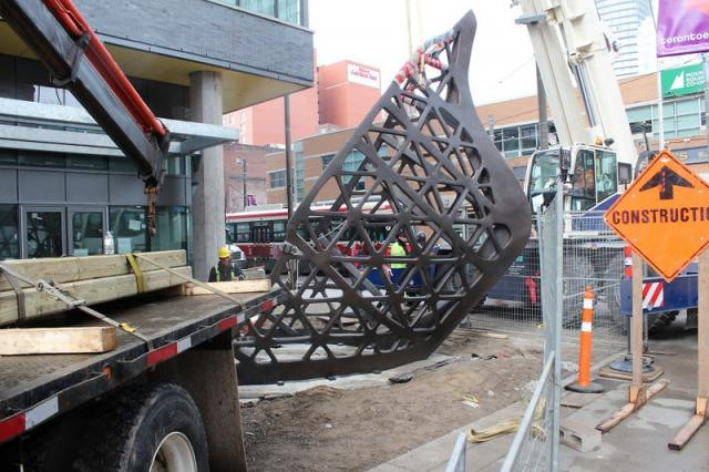 Ballast by Jed Lind arrives at Charlie Condos Toronto by Great Gulf