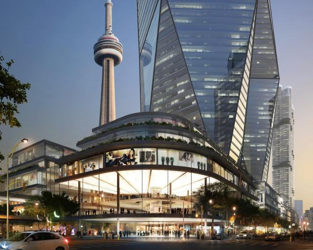 Oxford Place, downtown Toronto, Foster + Partners, Oxford Properties