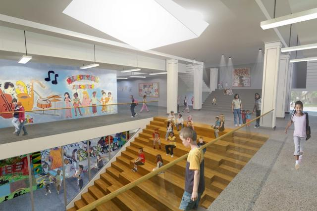 Nelson Mandela Park Public School, Toronto. Design by CS&P Architects.