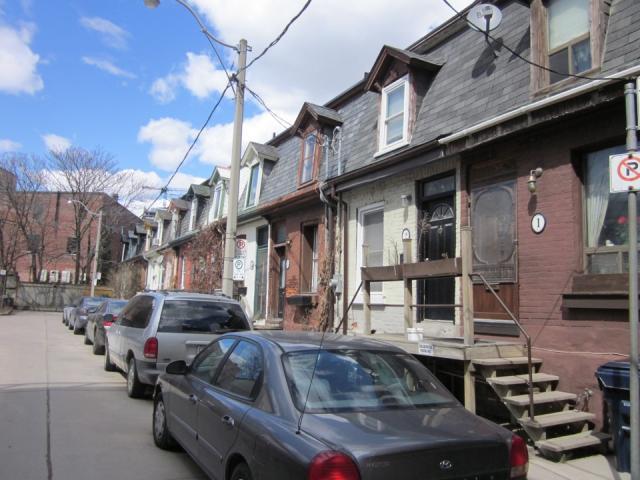 Victorian, row houses, Corktown, Toronto, historic, townhouses
