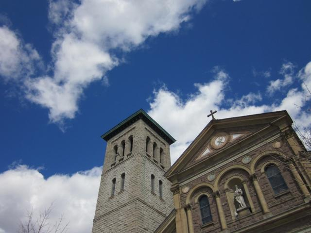 St. Paul's Basilica, Catholic Church, historic, Corktown, Toronto