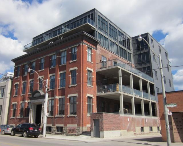 Vinegar Co. Lofts, Streetcar Developments, loft conversion, Corktown, Toronto