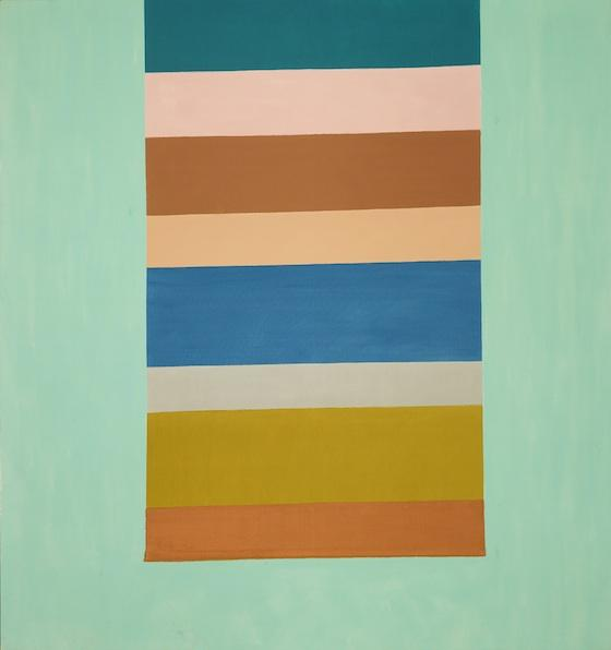 "Jack Bush ""Floating Banner"" 1968   a/c 87"" x 81 1/2"""
