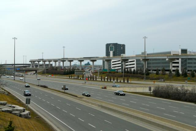 Union Pearson Express, Highway 409, Toronto