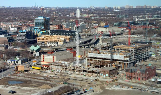 Pan Am Athlete's Village at West Don Lands in Downtown Toronto