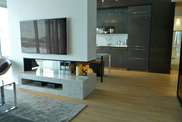 The model suite at Opus Condos at Concord Park Place in North York