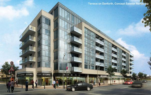 Terrace on the Danforth, Toronto, Condo