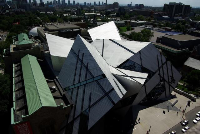 Royal Ontario Museum in downtown Toronto, Libeskind architect