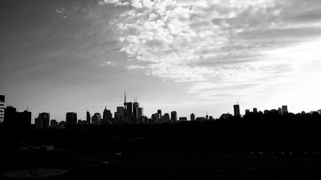 Downtown Core from the eaast, Toronto