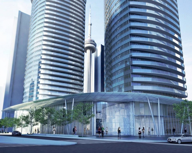 Ïce Condominums at York Centre Toronto