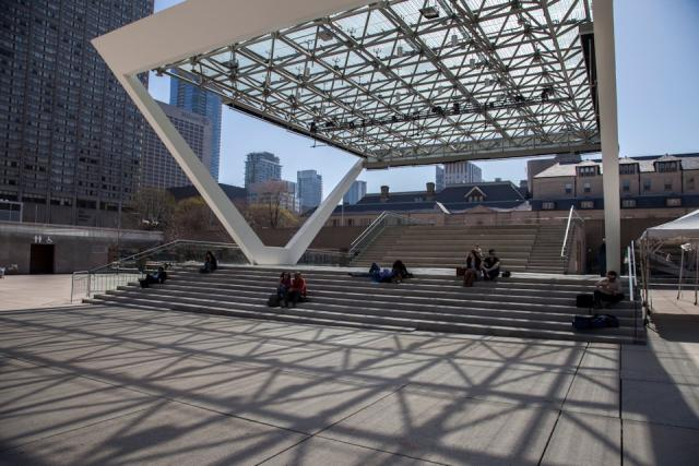 Toronto City Hall and Nathan Phillips Square, Perkins + Will, Plant, Toronto
