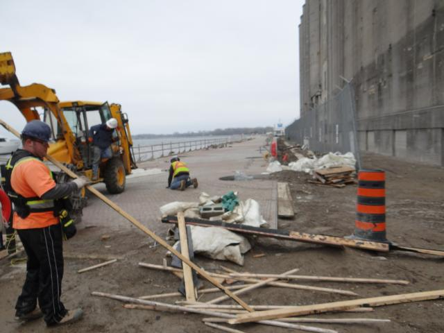 Portland Slip Project Toronto Waterfront Bathurst Silos
