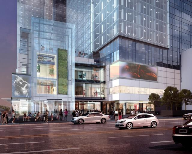 Yonge Eglinton Centre Midtown Toronto RioCan
