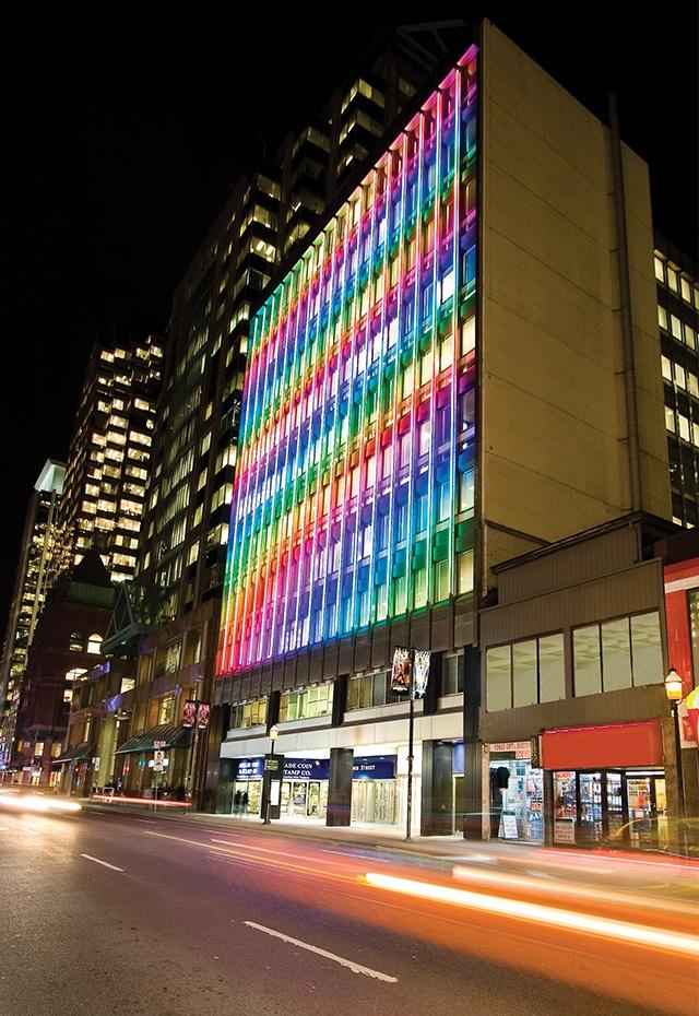 137 Yonge Street, LED lighting, Kramer Design Associates