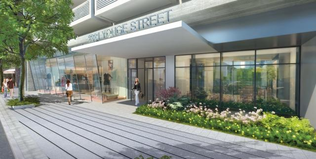 2221 Yonge condos Toronto, image courtesy of Tower Hill Development Corporation