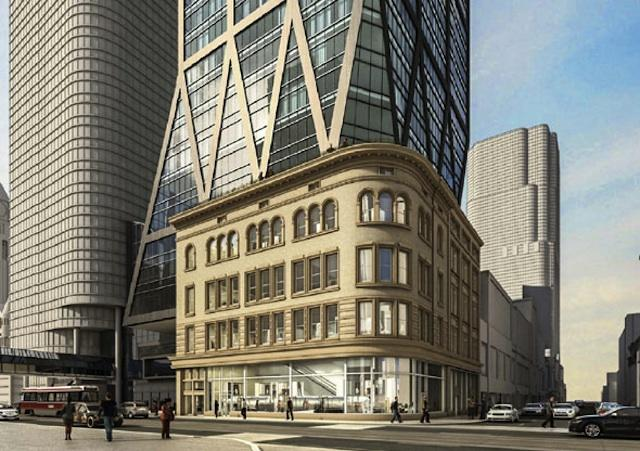 2 Queen West by Zeidler Partnership Architects for Cadillac Fairview
