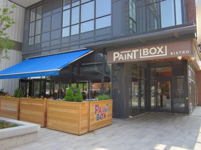 Paintbox Bistro, Regent Park, Toronto, development
