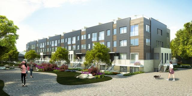 Park Town Townhomes and Condos by Broccolini Construction