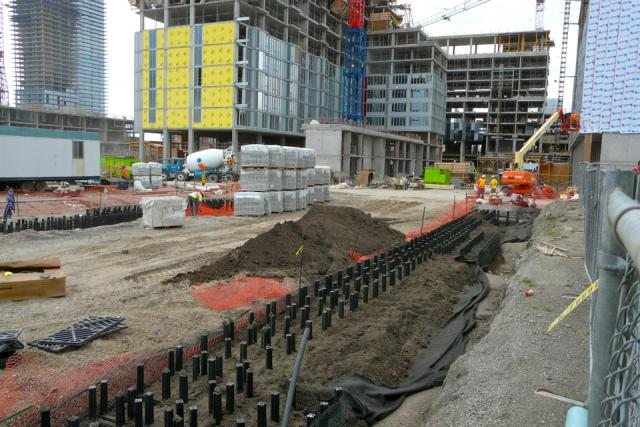 Silva cells going in at the CIBC Pan Am and Parapan Am Athletes' Village, image