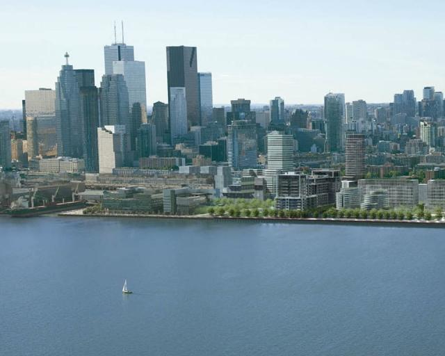 Aqualina, condo, Bayside Toronto, development, east end, Tridel, Hines