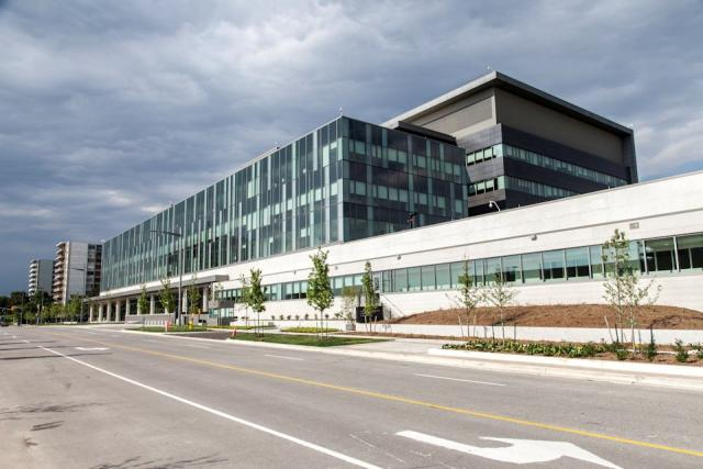Forensic Services and Coroner's Complex, WZMH Architects, Toronto
