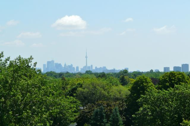 Downtown to the east from Westwood Condominiums by the Alterra Group, Toronto