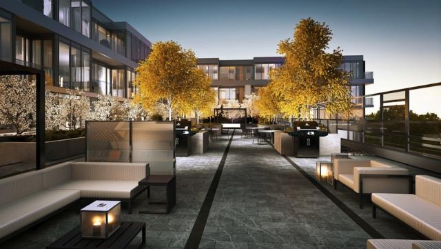 Terrace at Westwood Condominiums, image courtesy of the Alterra Group