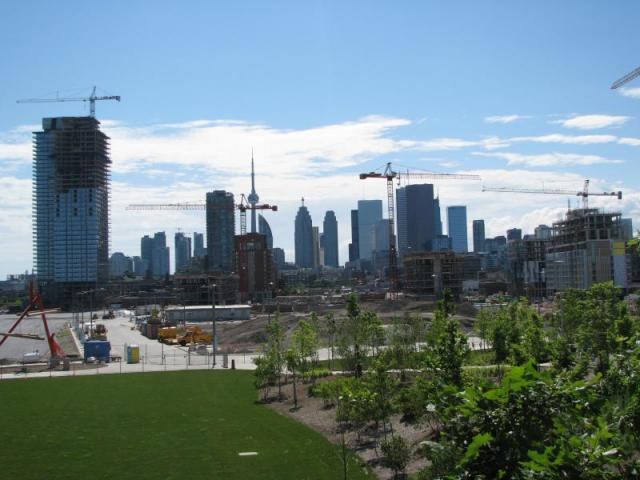 Toronto Skyline, Corktown Common