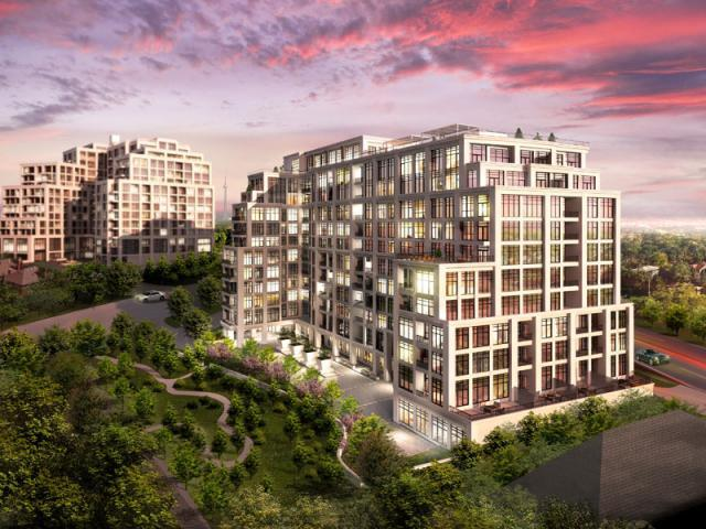 Old Mill condos, Toronto, rendering
