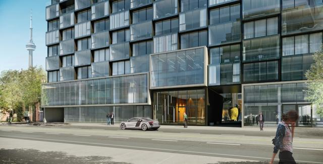 Saucier + Perrotte's Thompson Residences, by Freed Developments, Toronto