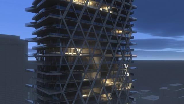 2 Bloor West concept, renderings from architectAlliance, Toronto