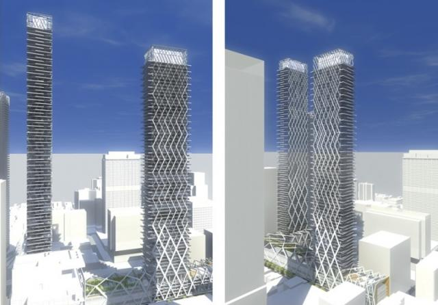 Context, 2 Bloor West concept, renderings from architectAlliance Toronto