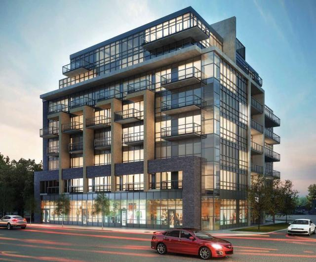Mid Rise Takes Hold On The Queensway At The Hive And The