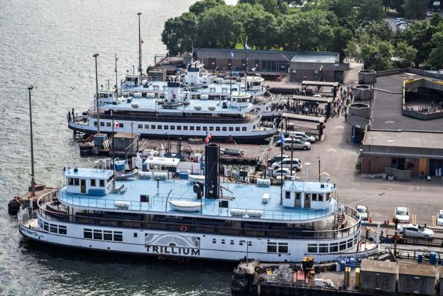 Toronto Island Ferry Dock Parking