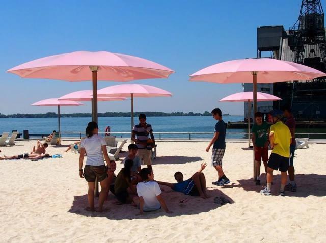 Maximum City, University of Toronto Schools, Toronto, Sugar Beach