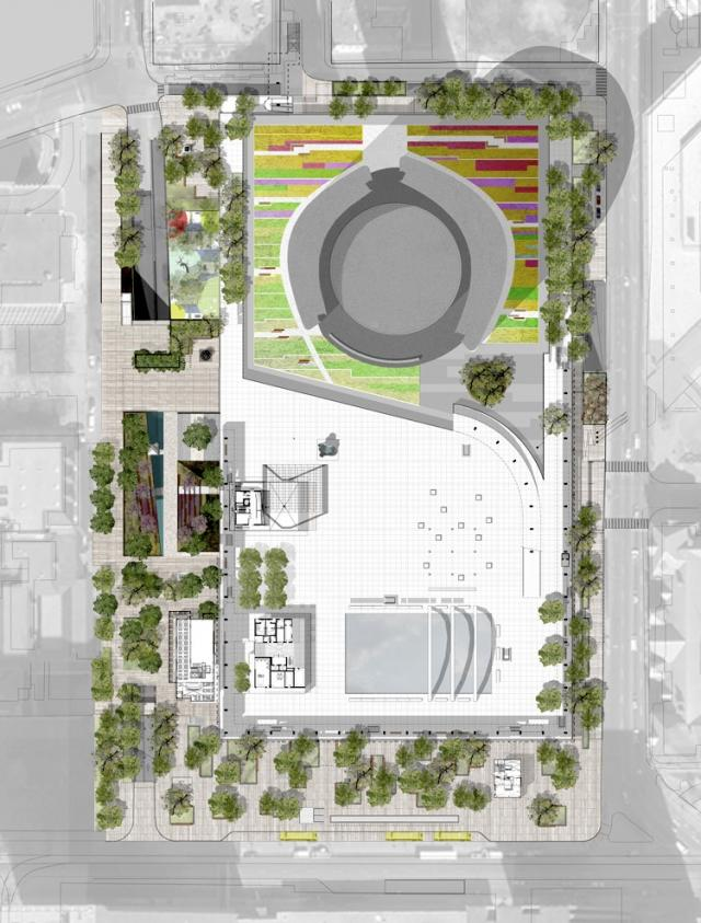 Nathan Phillips Square, City of Toronto, Perkins + Will, Plant Architect