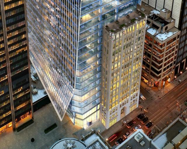 Ernst and Young Tower, Oxford Properties, 100 Adelaide West, Toronto