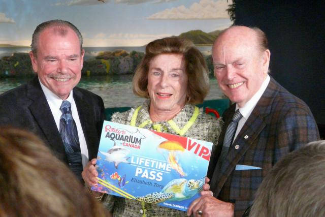 Jimmy Pattison, Elizabeth Tory, Jim Pattison, image by Craig White