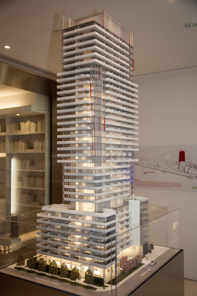 155 Redpath Freed Developments architectsAlliance Toronto