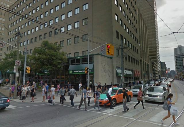 Current situation, 481 University at Dundas, Toronto, Davpart, H&R Developments