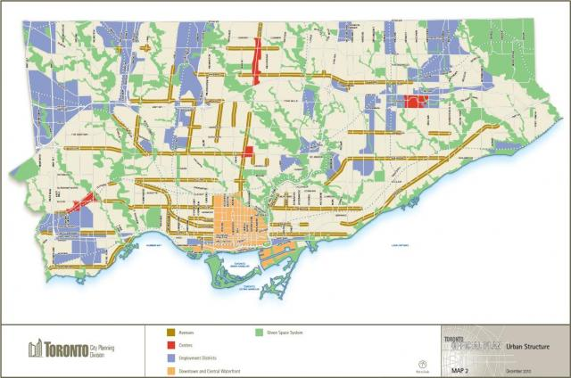 Toronto, Avenues and Midrise Study, Official Plan